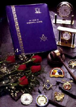 Lindeburg Masonic Catalog: Jewelry, gavels, crowns, tiaras